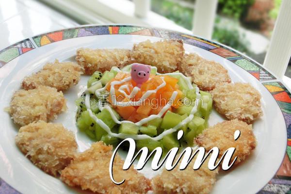 厨纸香酥鲷鱼的做法