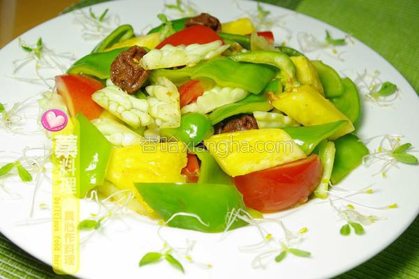 梅酿蔬果沙拉的做法