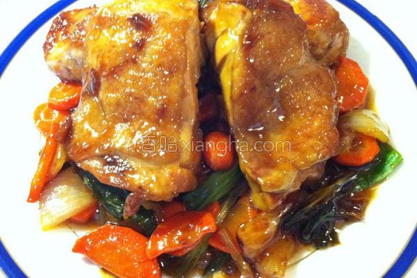 乌梅酱烧鸡的做法