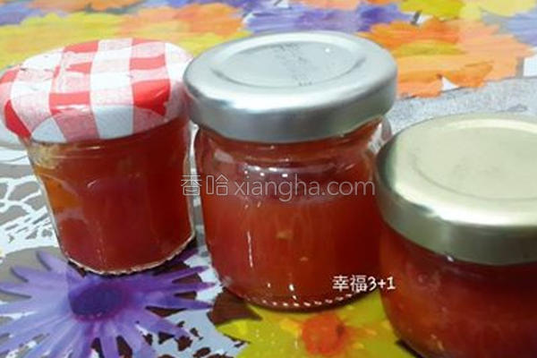 简易番茄酱的做法