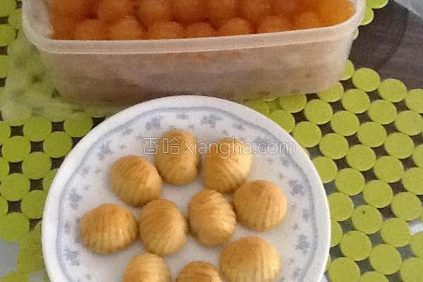 砚壳黄梨饼的做法