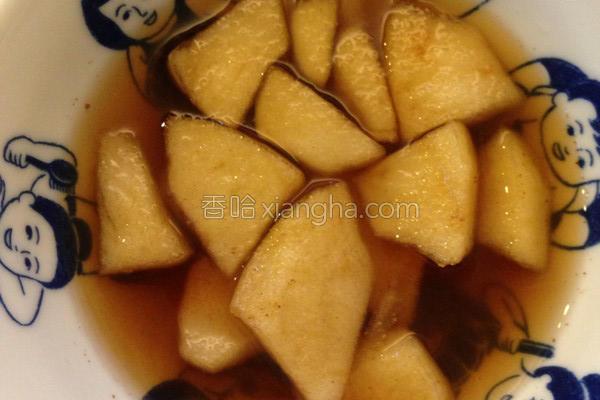 苹果肉桂甜汤的做法
