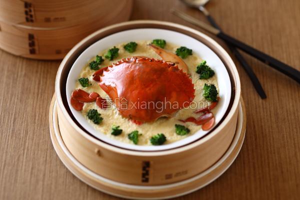 芙蓉清蒸肥蟹的做法