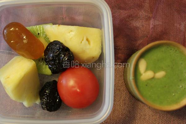 五色蔬果的做法