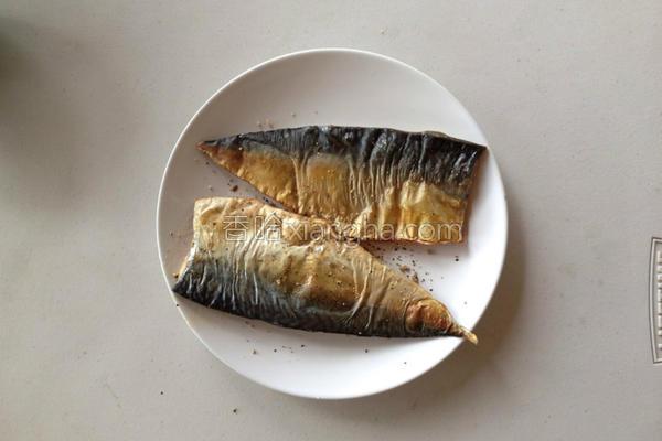 鲭鱼随便烤的做法