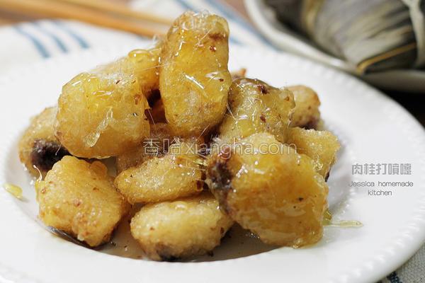 拔丝粽子的做法