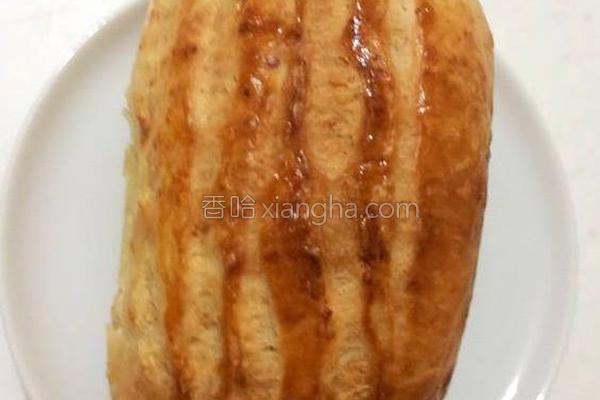 奶香哈斯面包的做法