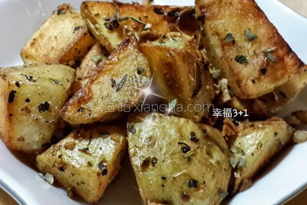 意式烤香薯的做法