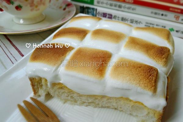 奶酥棉花糖吐司的做法