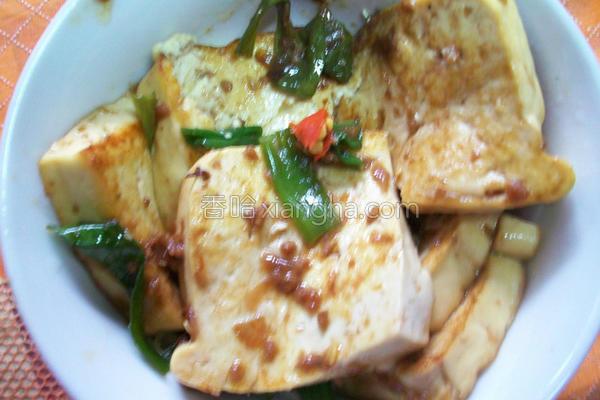 香煨豆腐的做法