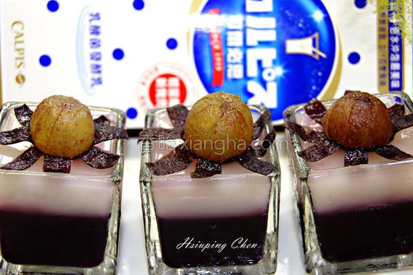 可尔必思蓝莓果冻的做法