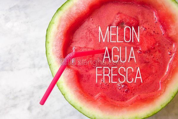 消暑柠檬西瓜水的做法