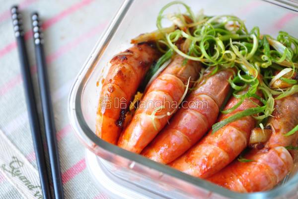 甜辣酱虾的做法