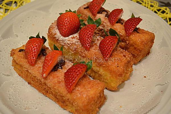 草莓脆条的做法