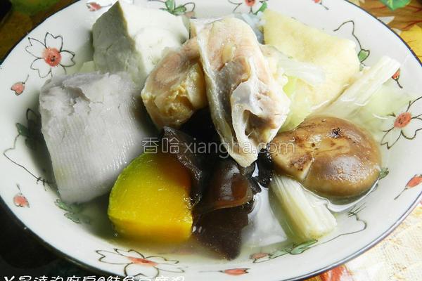 鲑鱼豆腐汤的做法