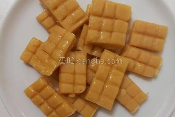 蜂蜜牛奶糖初体验的做法
