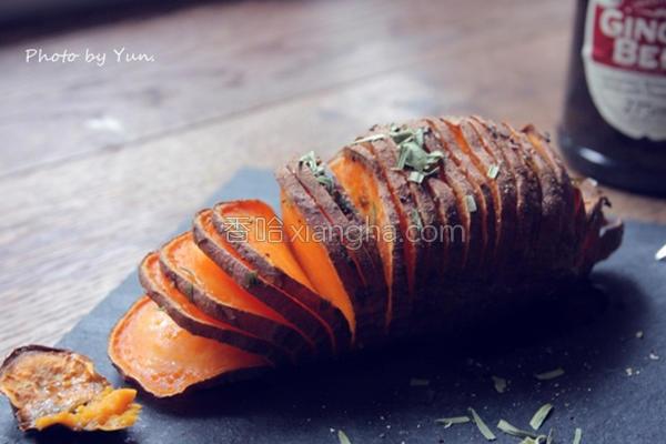 黄金地瓜薯片的做法
