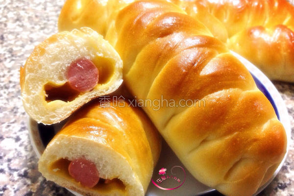 热狗起司面包的做法