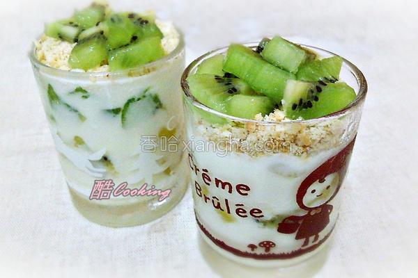 奇异果酸奶的做法