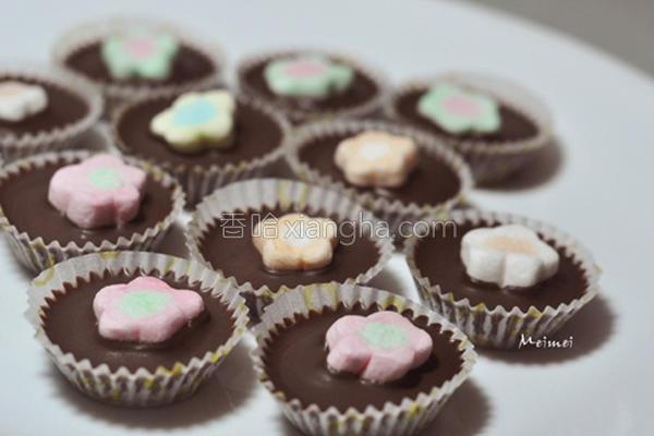 飘飘棉花黑巧克力的做法