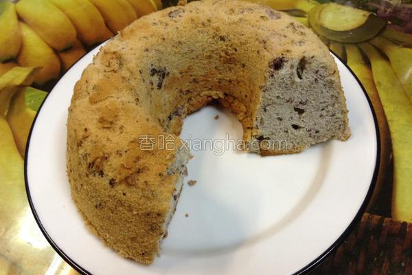 桑葚蛋糕的做法