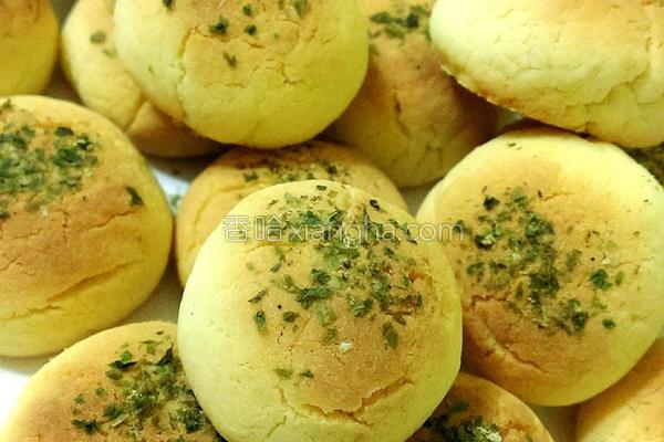 海苔奶酥饼的做法