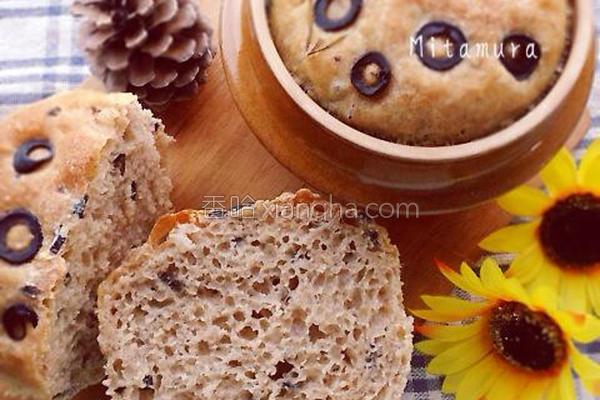 土锅乡村面包的做法