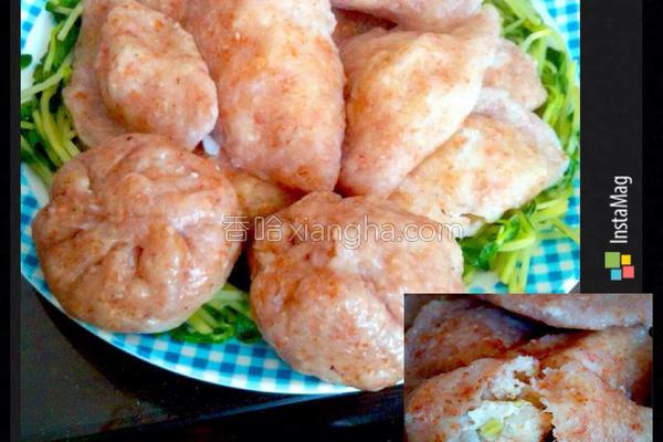 全麦鱼肉水饺的做法