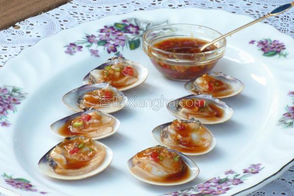 五味蛤蜊的做法