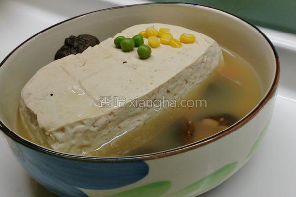 蜂巢豆腐的做法