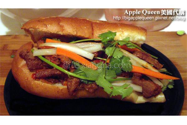越南三明治的做法