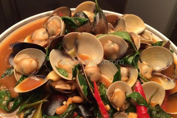 独门豆瓣酱炒蛤蛎的做法