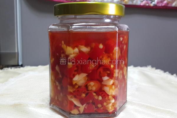 蒜味辣椒油的做法