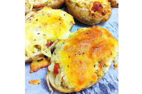 焗烤马铃薯的做法