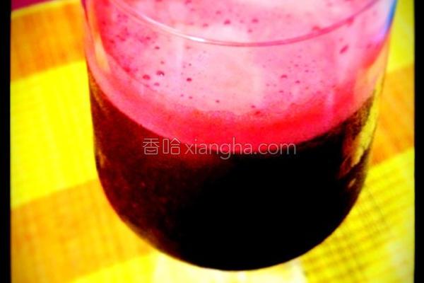 甜菜根萝卜汁的做法