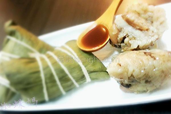 水煮肉粽的做法