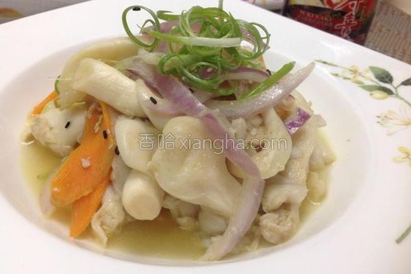 盐麹白玉菇的做法