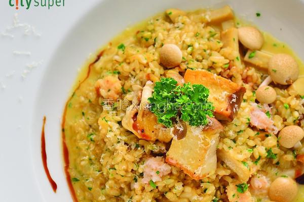 机糙米炖饭的做法