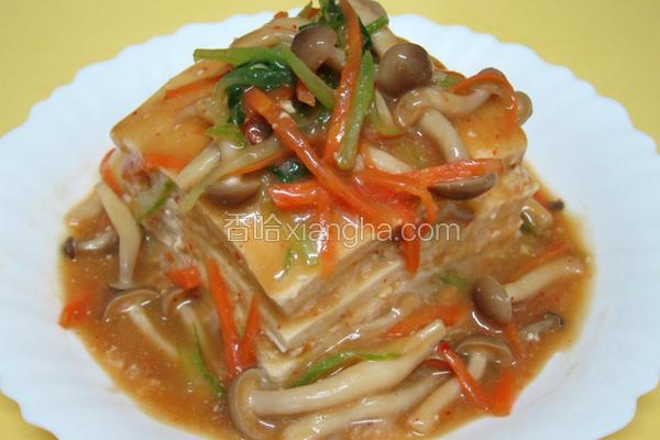 素食千层豆腐