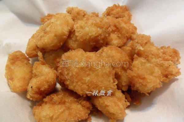 香酥豆乳鸡米花的做法