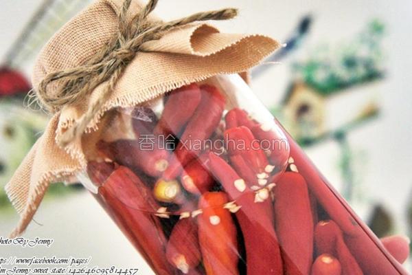 醋渍辣椒的做法