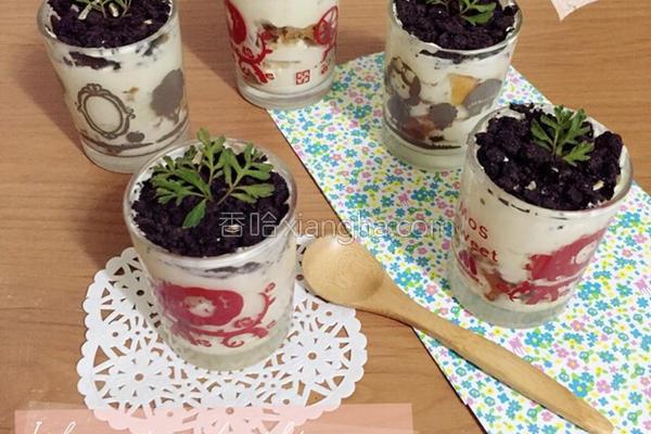 提拉米苏小盆栽的做法