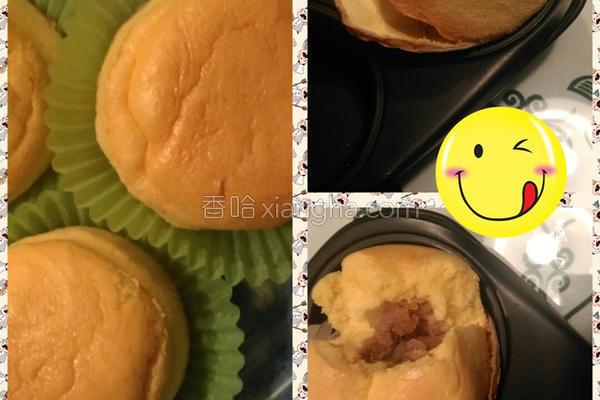 芋泥清水蛋糕的做法