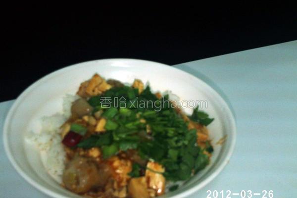 辣酱豆腐饺饭的做法