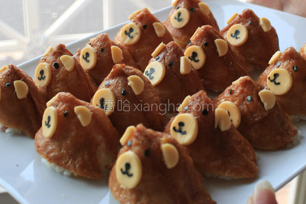 熊熊稻禾寿司的做法