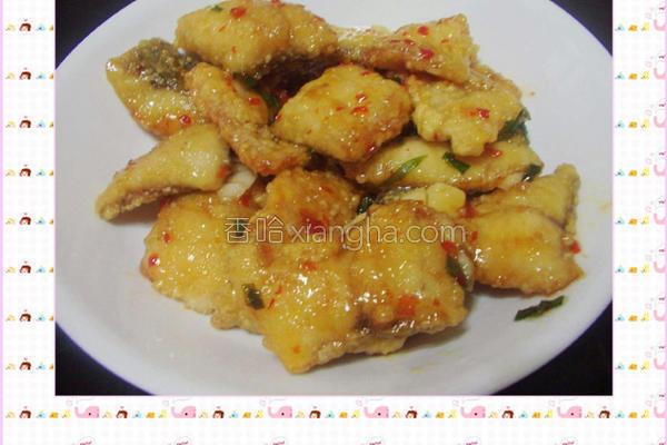 泰式香酥鱼块的做法