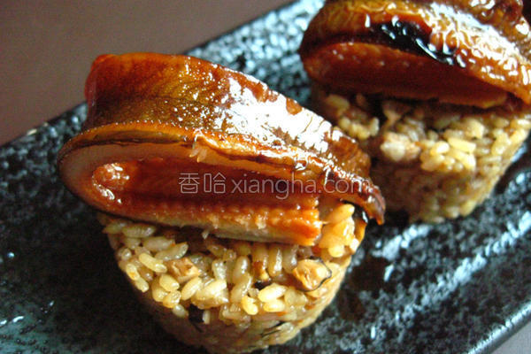 鳗鱼米糕的做法