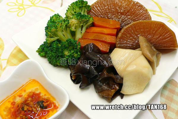 冰卤蔬菜&木耳的做法