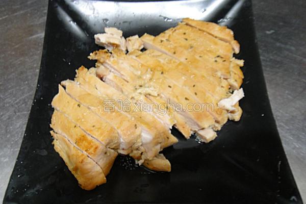 味噌酱烤鸡胸肉的做法