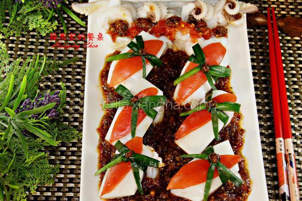 日式梅酱墨鱼的做法